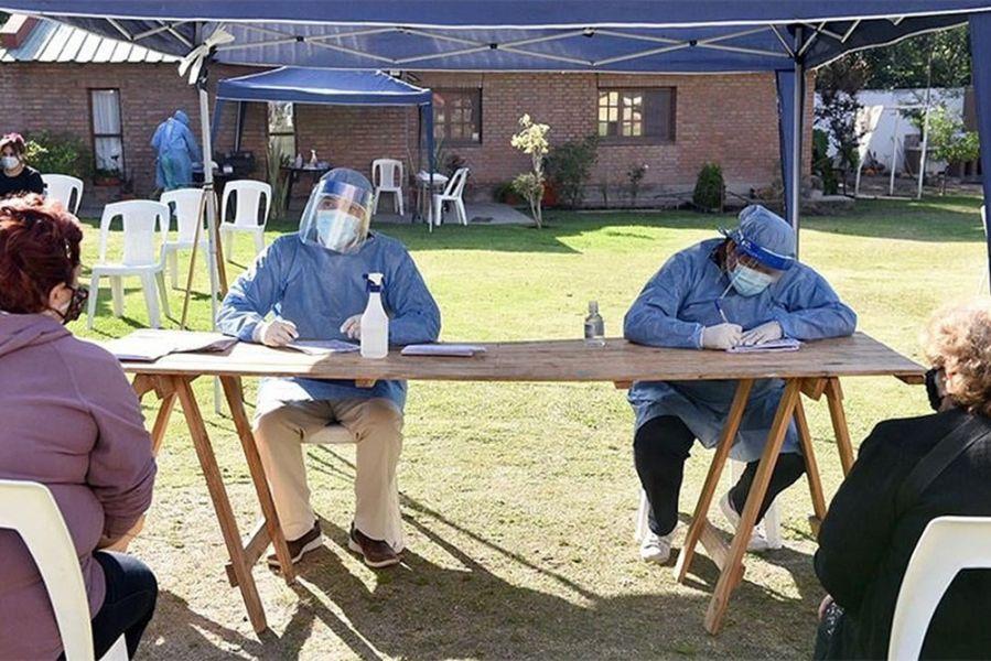 Para capacitar a los equipos locales y coordinar las actividades, funcionarios del Ministerio de Salud Pública se trasladarán a Santa victoria Este, Alto La sierra y Morillo.