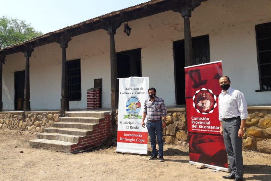 La Comisión del Bicentenario coordina las actividades con municipios, instituciones educativas, históricas, tradicionalistas y culturales. La primera reunión fue con autoridades municipales de El Bordo.