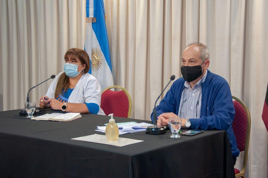Hay dos muestras en estudio en el instituto Malbrán de Buenos Aires. Las personas que regresen del exterior deben realizarse el hisopado nasofaríngeo y el laboratorio público o privado tiene que contactarse con Epidemiología para coordinar el envío de la muestra a la Capital Federal.
