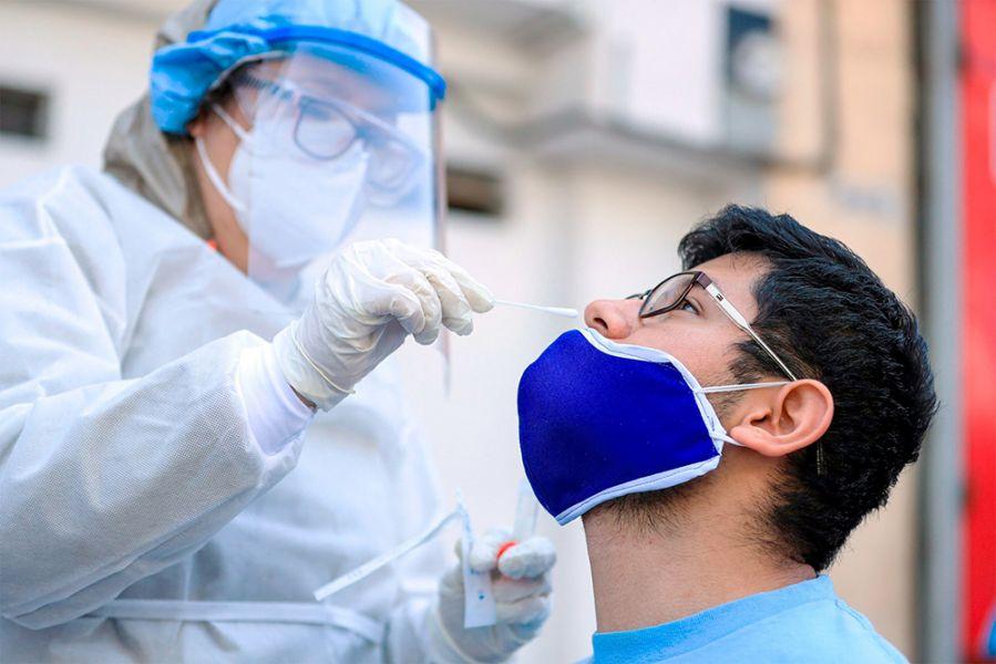 Los resultados de los hisopados realizados en estos dispositivos, arrojaron un 32 por ciento de positividad, lo que representa a 169 personas que han contraído la infección por coronavirus.