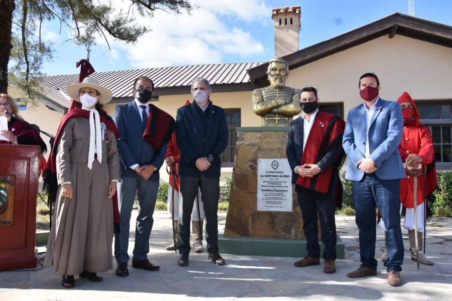 Fue en el marco de las acciones que se llevan adelante en conmemoración del bicentenario del paso a la inmortalidad del héroe nacional y los festejos por el centenario de la localidad.