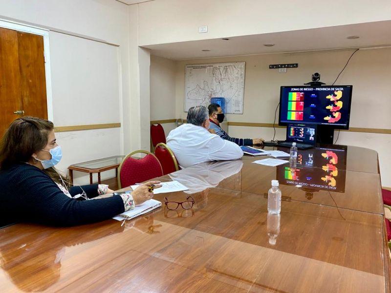 El funcionario informó cómo se trabaja en Salta ante el avance de la segunda ola de COVID-19 y respondió a diferentes interrogantes de los legisladores. También anunció que se iniciaron los trámites para equiparar el salario de la hora guardia en todas las áreas operativas.