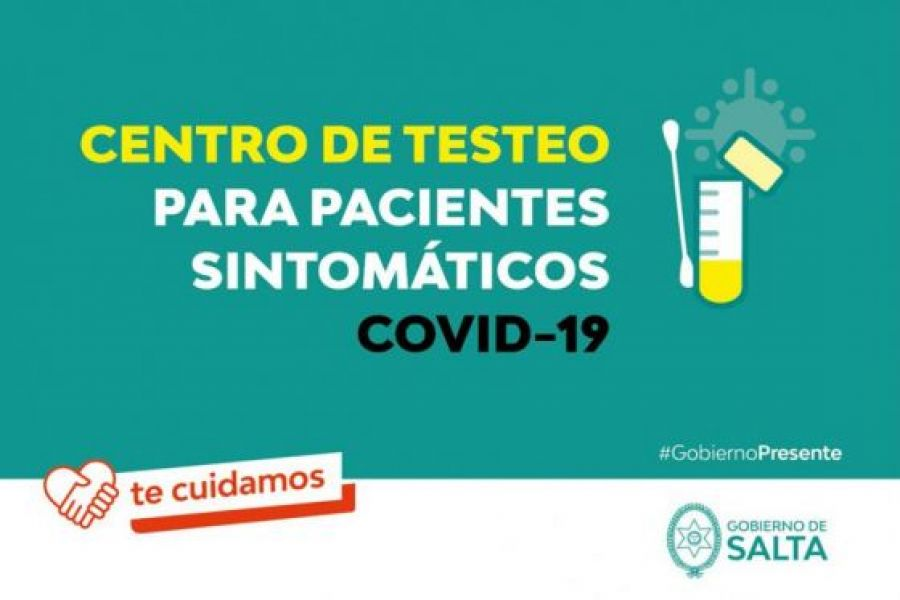 Los dispositivos están habilitados solo para quienes presentan sintomatología compatible con COVID-19 y para acceder al test deben  contar con la derivación de la aplicación SaltaCovid, de la línea de Atención Ciudadana 148 o con un pedido médico.