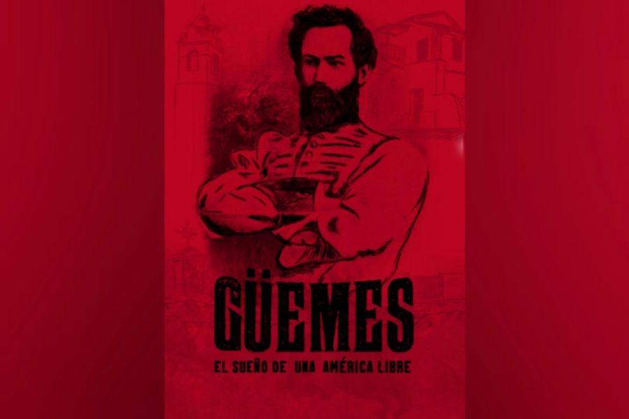 Es una producción salteña de cuatro capítulos que relata la vida del General Martín Miguel de Güemes. Se estrenará hoy y se emitirá en los canales de Salta.
