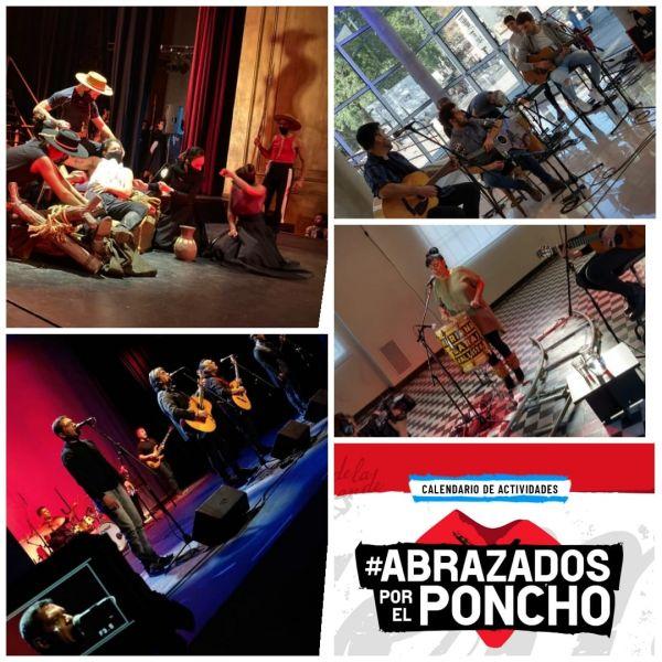 El programa de tv Abrazados por el Poncho, producido especialmente por la Secretaría de Cultura de la Provincia, se podrá disfrutar en Salta y en todo el país el miércoles 16 de junio, desde 22.