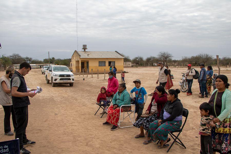 Un puesto sanitario móvil brindó asistencia en Alto La Sierra