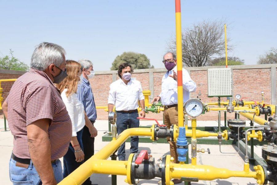 Los vecinos de Ballivián y Coronel Cornejo cumplieron el sueño de acceder al servicio de gas natural