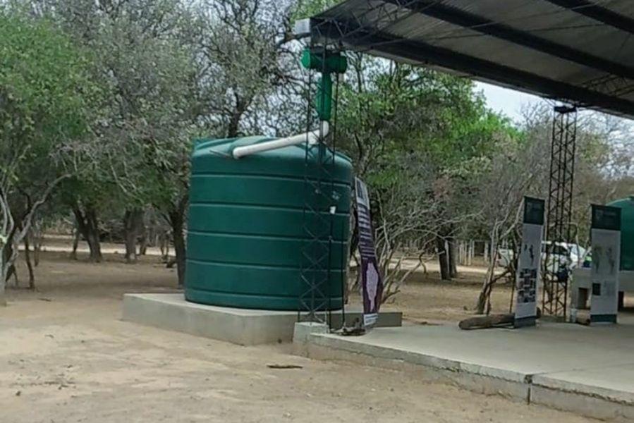 En el Chaco salteño se desarrolló un sistema comunitario de recolección de agua