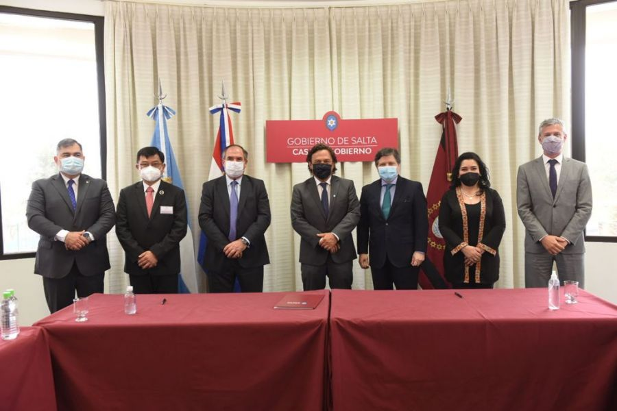 Salta y Paraguay se unen para el fortalecimiento del turismo, cultura y comercio.