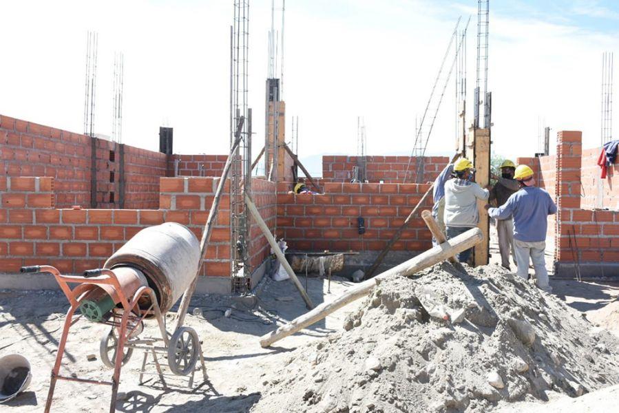 El IPV construye en Cafayate viviendas con sistema bioclimático