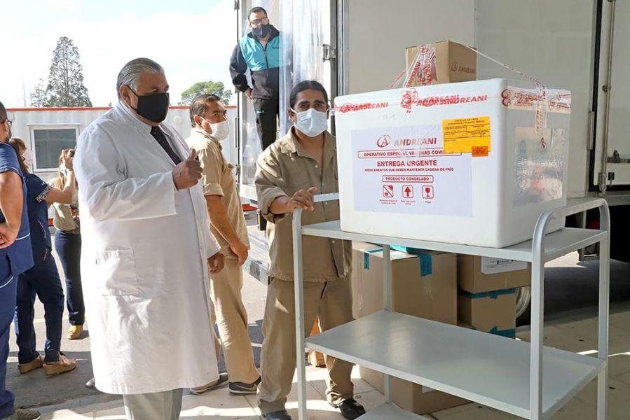 Centro de distribución de vacunas