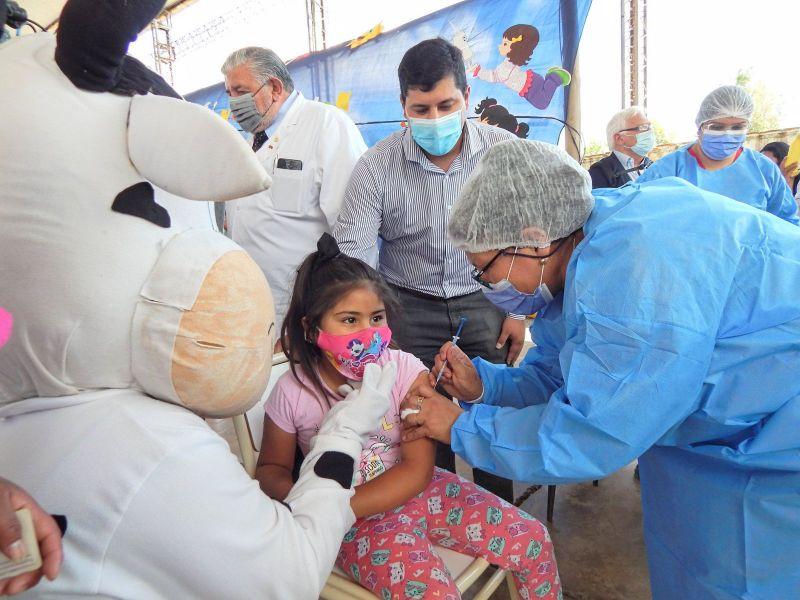 Comenzó la vacunación pediátrica contra COVID-19 en Salta
