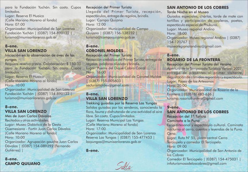 Calendario de verano: La aventura de descubrir Salta