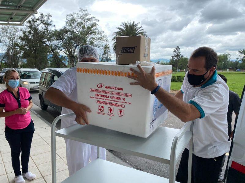 Salta recibió la segunda entrega de vacunas Sputnik V
