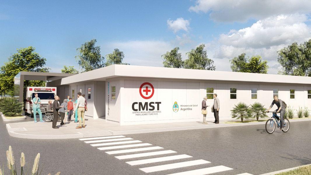 Centro Modular Sanitario en Cafayate.