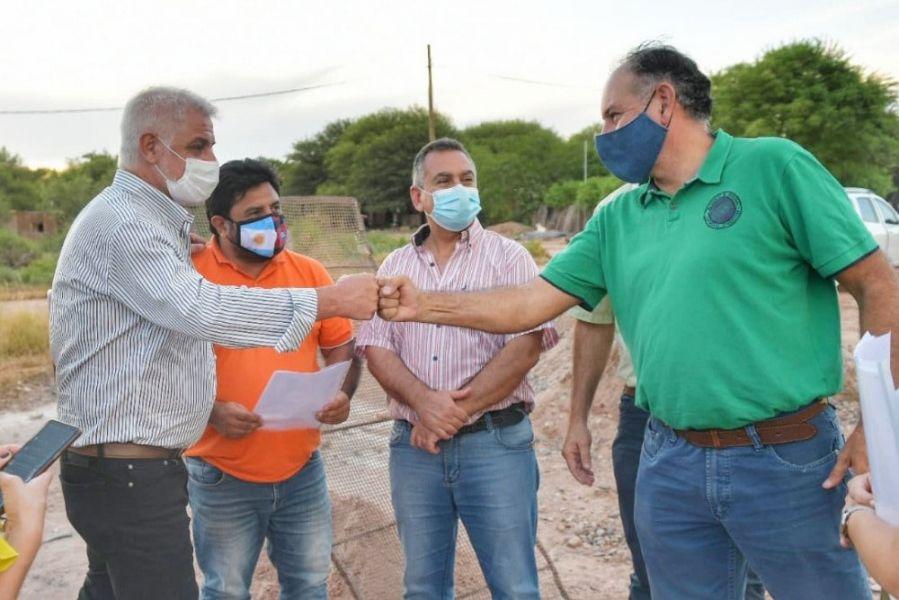 La Provincia intensifica la ejecución de obras y equiparación de oportunidades para los vecinos de Anta