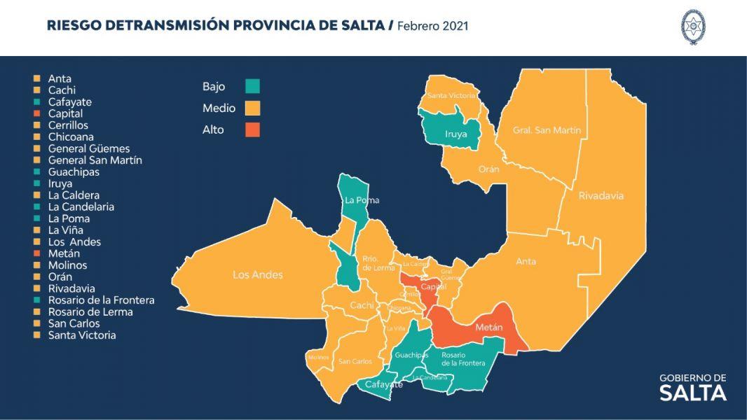 Situación epidemiológica Salteña