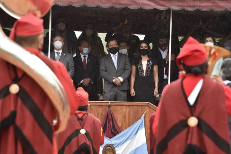 Sin el habitual público se rindió homenaje a los héroes de la Batalla de Salta