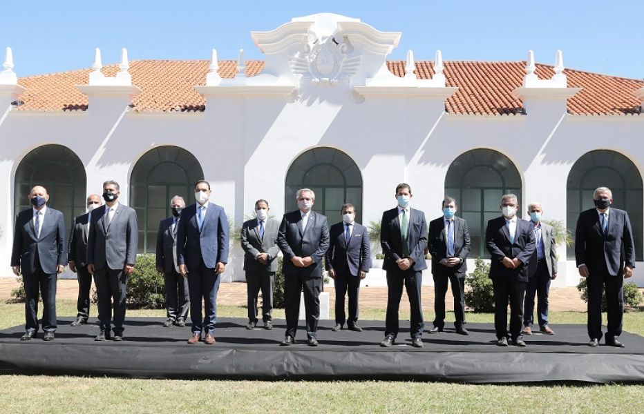 Homenaje a San Martín: Marocco acompañó al presidente Alberto Fernández