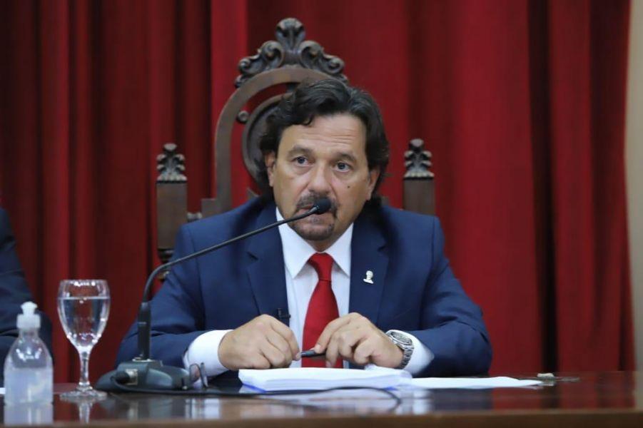 Sáenz anunció para este año una inversión superior a $40 mil millones de pesos en obra pública
