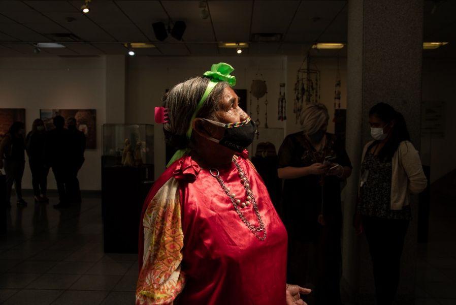Comunidades indígenas del norte provincial muestran y comercializan su arte