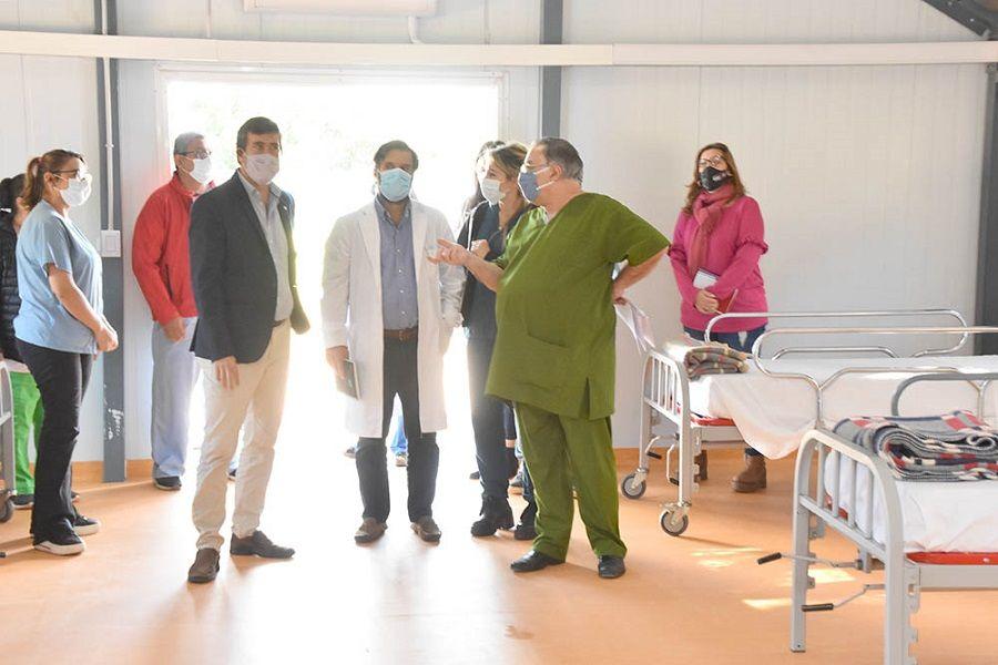 COVID-19: Evalúan la capacidad de respuesta del hospital Güemes