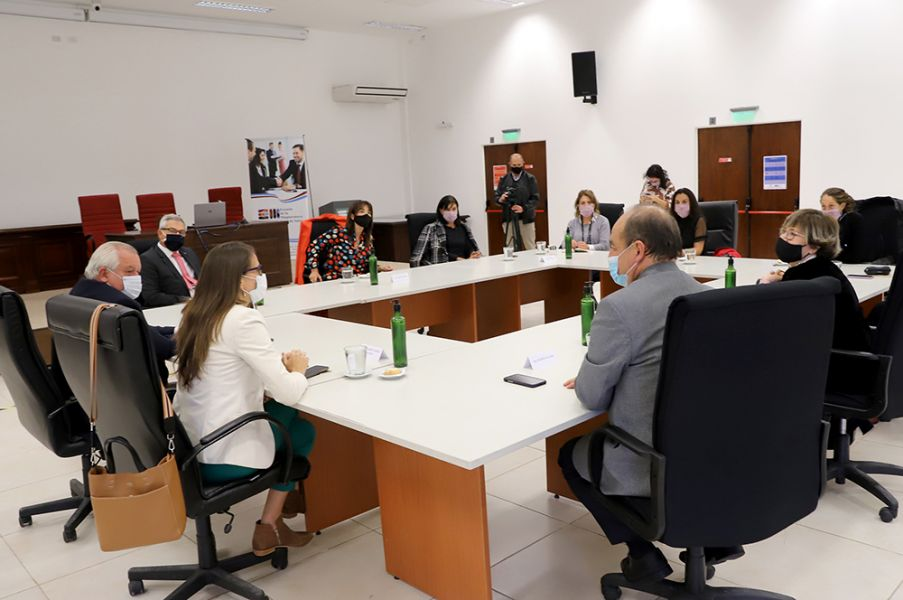 El encuentro se realizó en el salón Rodolfo J. Urtubey de la Escuela de la Magistratura