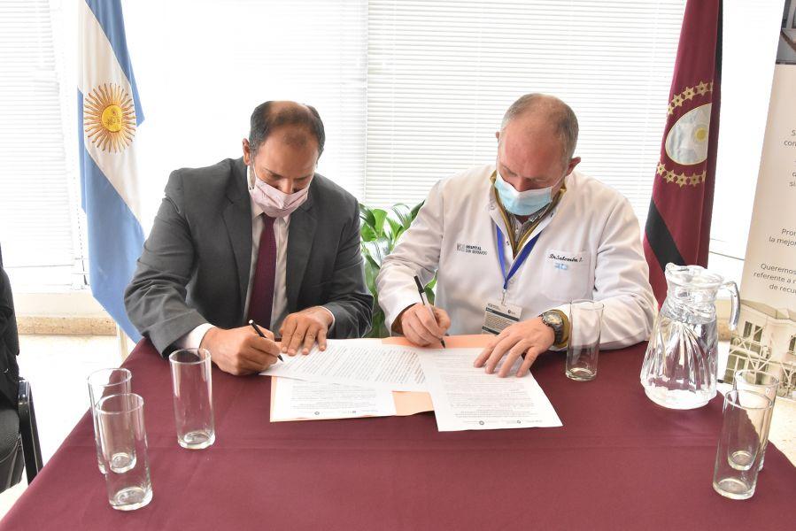 Acto de firma de convenio