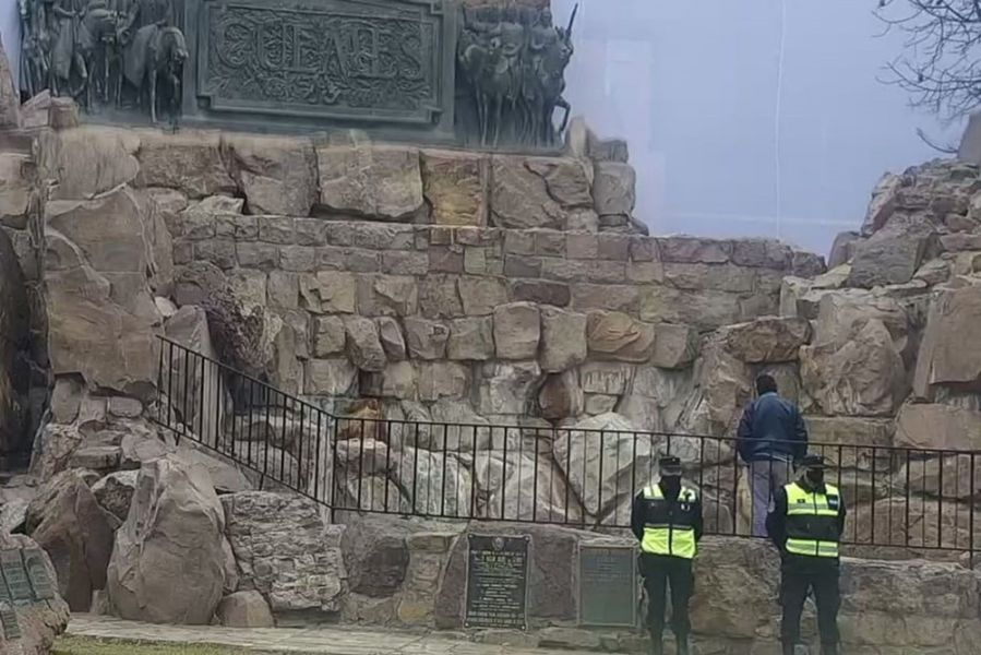 Operativos de seguridad durante los actos en honor al General Güemes