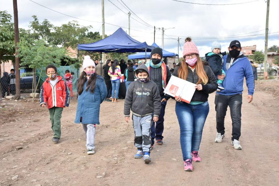 Salta: Familias de El Bordo recibieron soluciones habitacionales