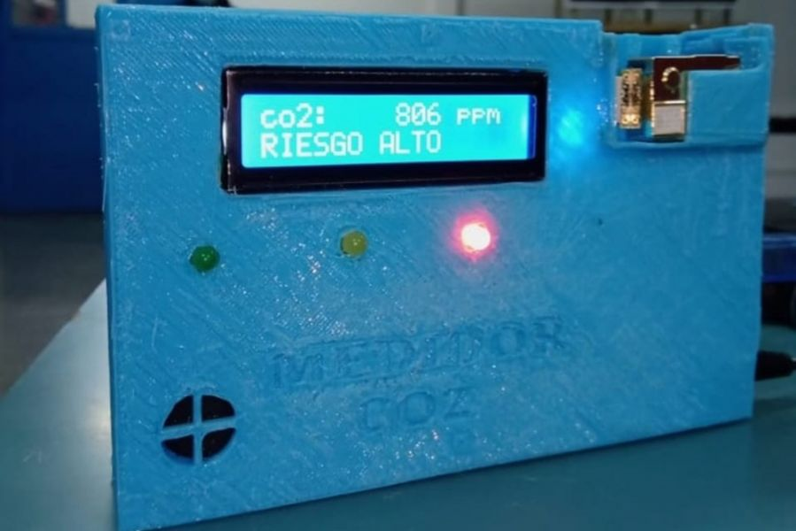 Medidor inteligente para identificar saturación del aire