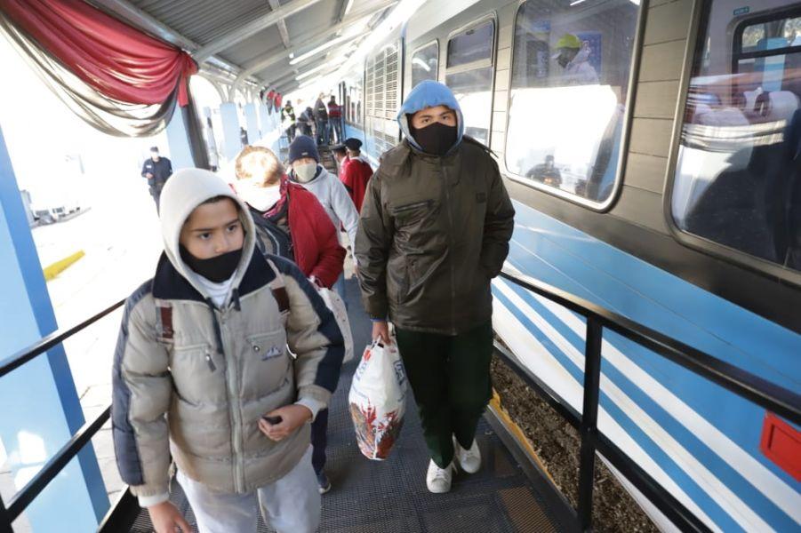 Los viajes regulares del Tren Urbano al Valle de Lerma se harán desde el lunes 12