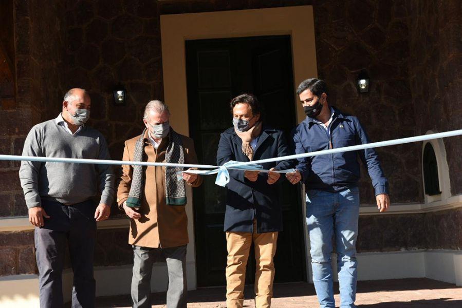 El gobernador Sáenz inauguró el Centro de Interpretación de la Quebrada de las Conchas en Alemanía