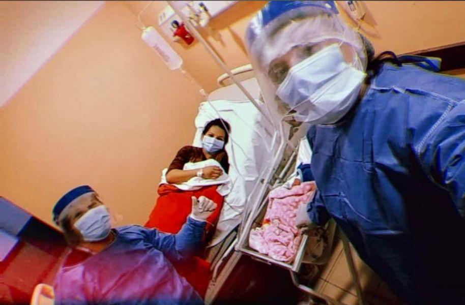 Dos embarazadas con COVID-19 dieron a luz en el hospital de Embarcación