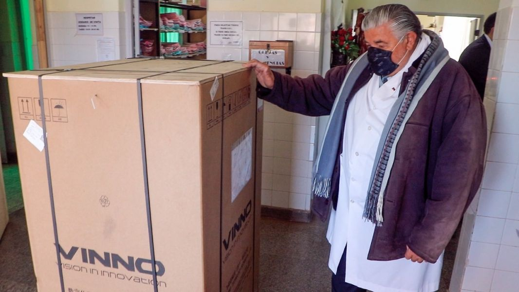 Nuevo ecógrafo para el hospital de Guachipas