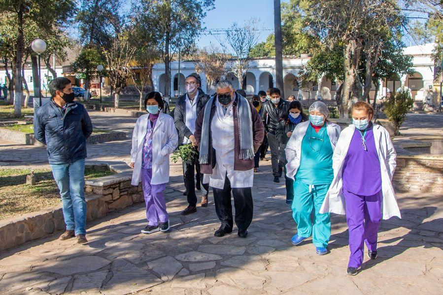 El hospital de Guachipas cuenta con nuevo equipamiento para ecografías