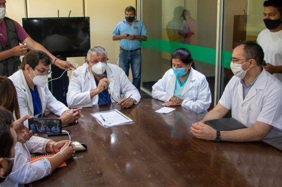 El hospital San Vicente de Paul tiene nuevo equipo gerencial