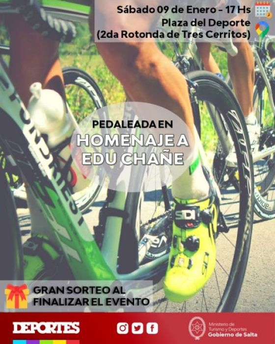 Actividad deportiva en homenaje a Eduardo Chañe