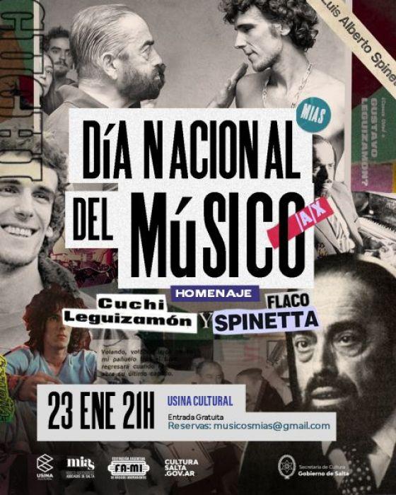 Celebran el Día del Músico/a/x en la Usina Cultural