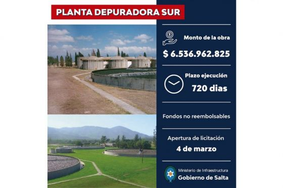 74256-la-optimizacion-y-ampliacion-de-la-planta-depuradora-del-sur-de-la-ciudad-de-salta-se-licitara