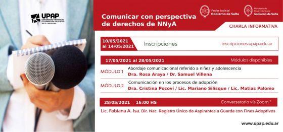 """Capacitación para periodistas """"Comunicar con perspectiva de derechos de niñas, niños y adolescentes"""""""