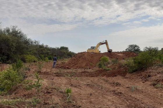 Salta: A fines de junio culminará la segunda etapa de obras de defensa en el río Pilcomayo